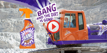 Cillit Bang - Bang! And the dirt is gone!